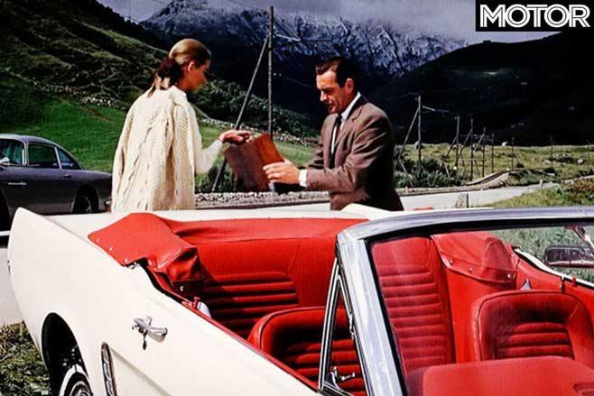 فورد موستانگ در فیلم گلد فینگر
